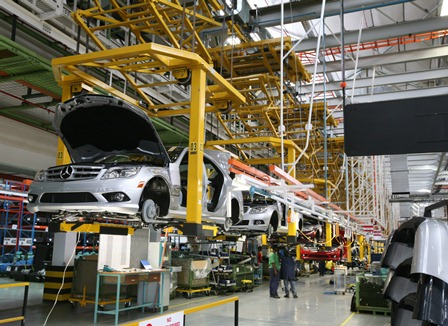 1600 mercedes benz plant workers on illegal strike - ventures africa