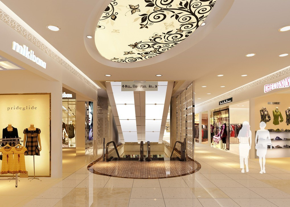 Shopping mall interior design images for Interior design shopping