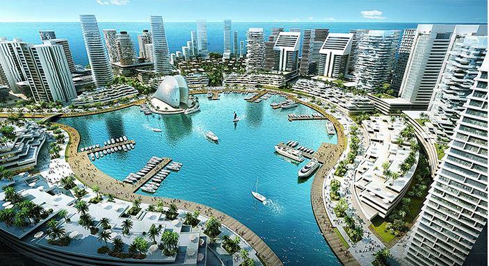 Two years after ground breaking, the $6bn Eko Atlantic City is gradually taking shape - Ventures Africa