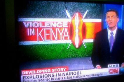 CNN Kenya explosion