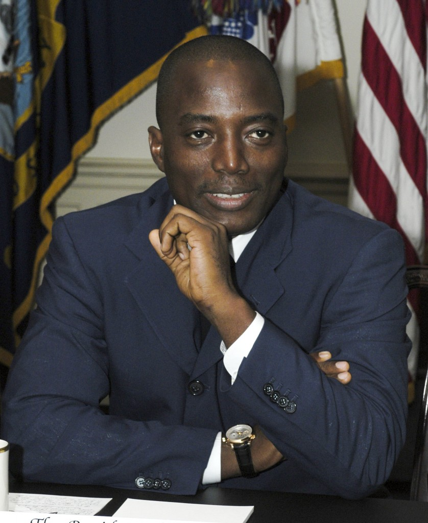 Visit by Pres. Joseph Kabila of the Democratic Republic of the C