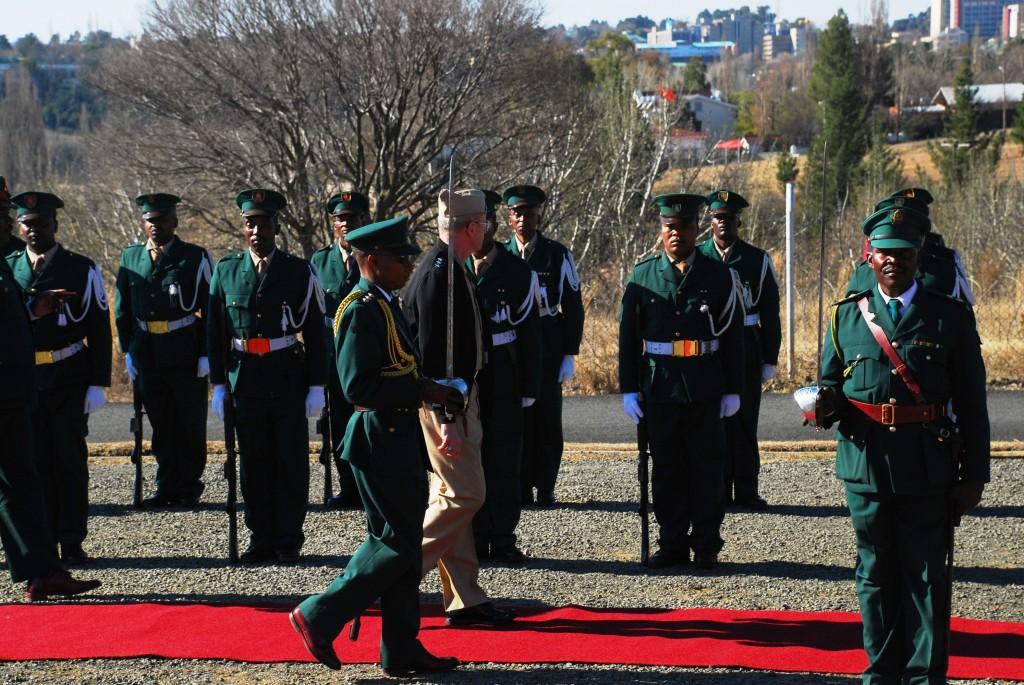 """Lesotho Defense Force"""