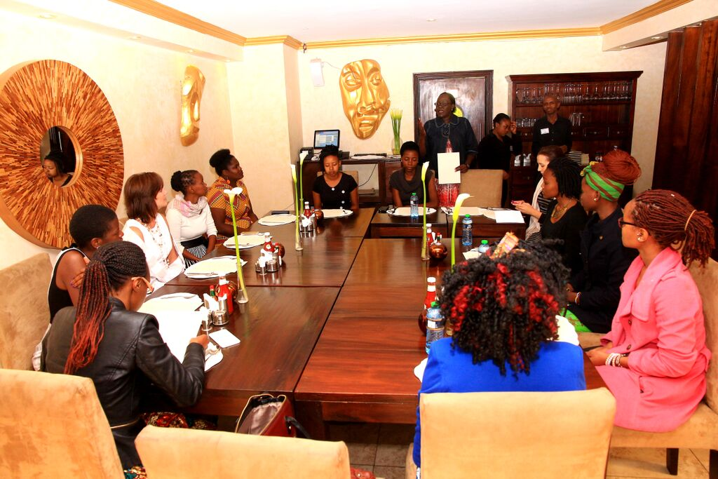Round-table discussion at Nairobi, Kenya  Credit - Case Foundation