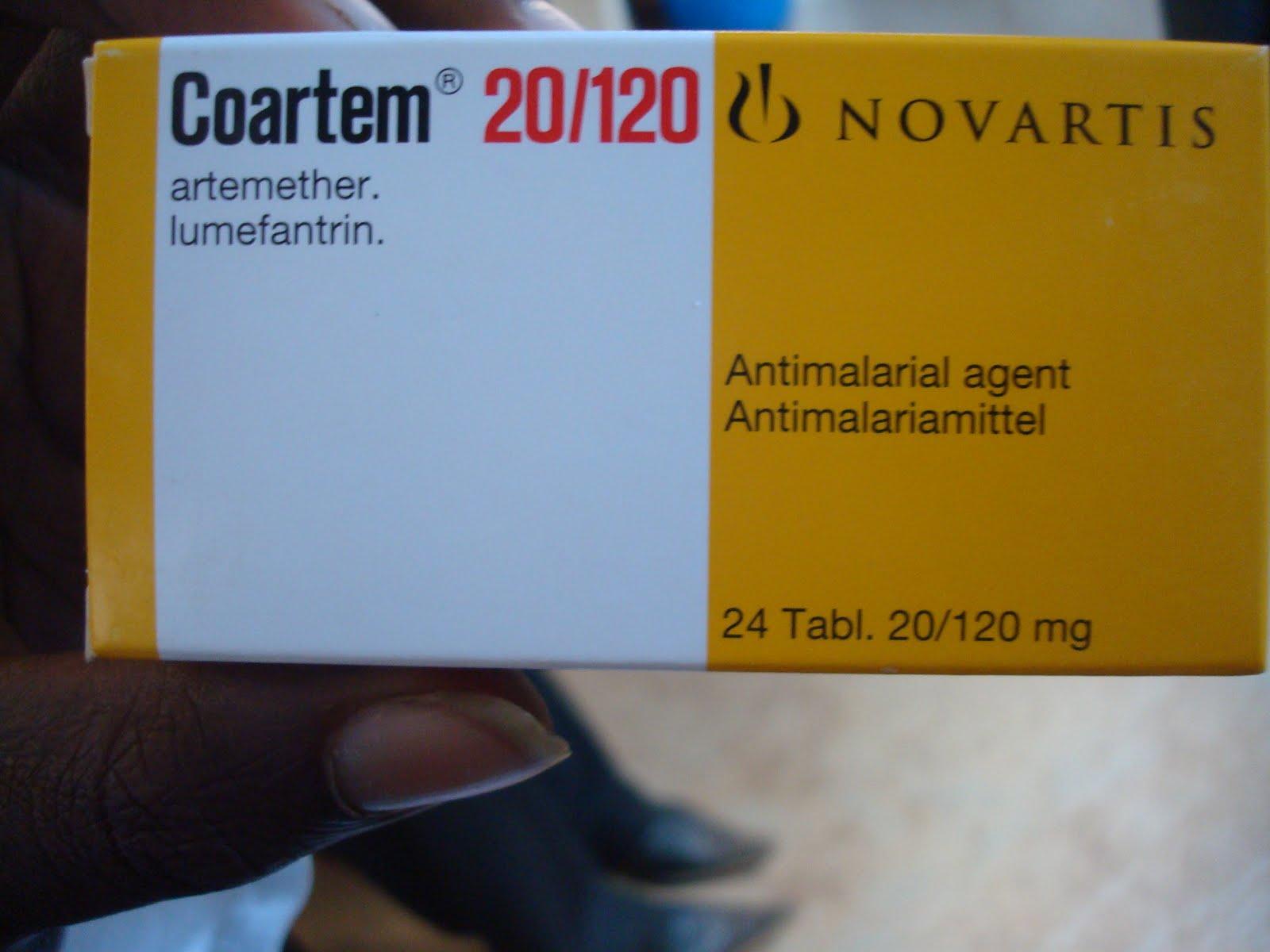 Anti-Malaria drug -Coartem