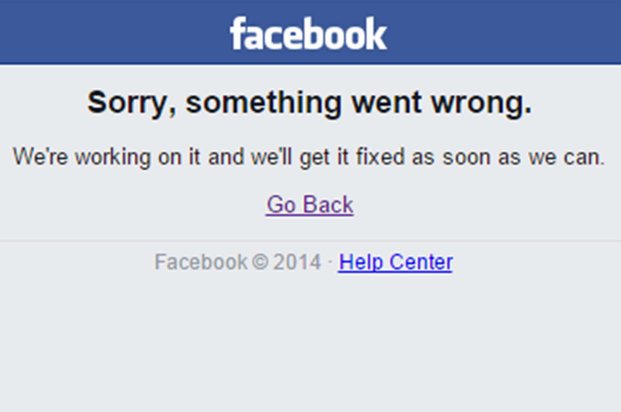 Users panic as Facebook goes offline for 10 minutes ...