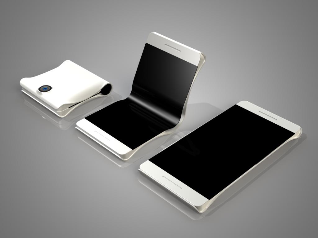 Foldable phone concept Credit - Coroflot