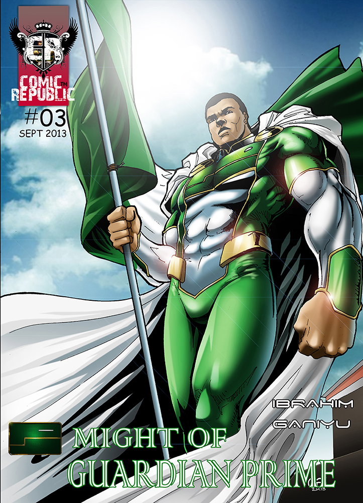Guardian Prime - A Nigerian superhero from 2013