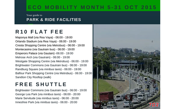 sandton park and ride