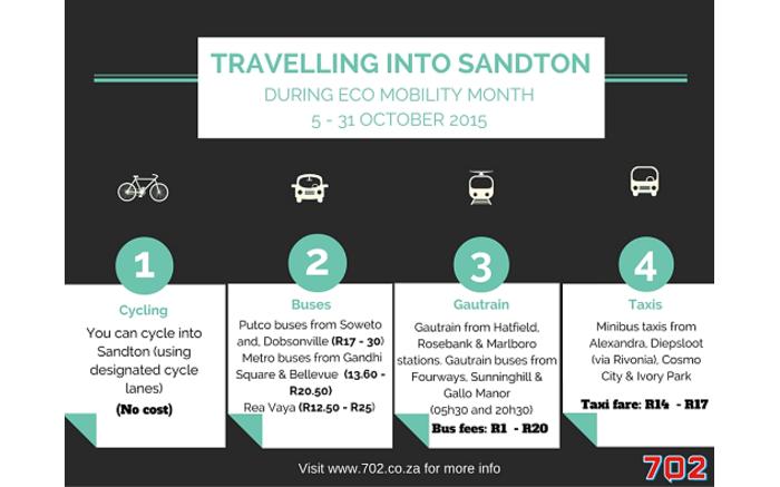 sandton transport