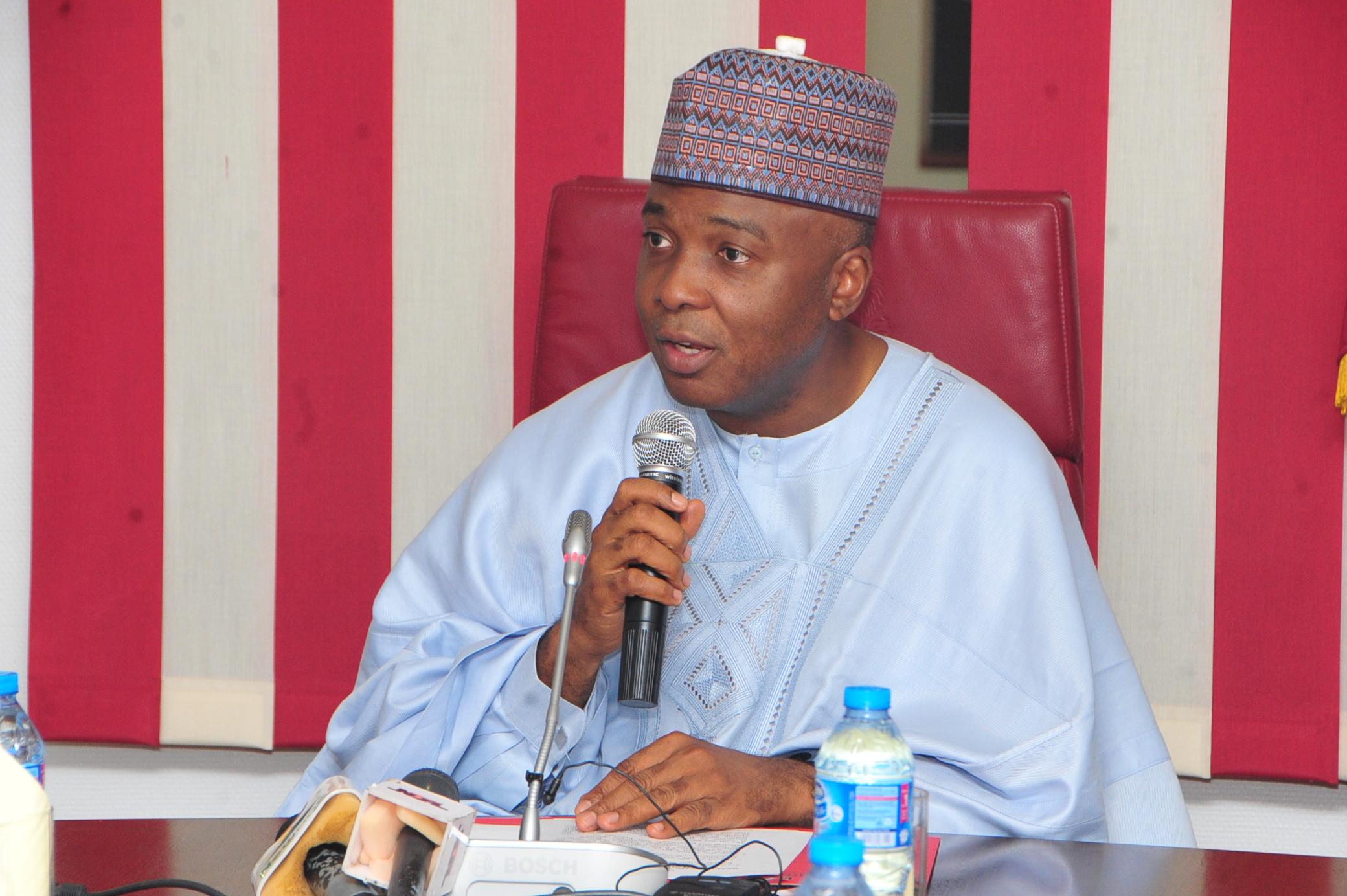 Senator Dr. Abubakar Bukola Saraki (CON)