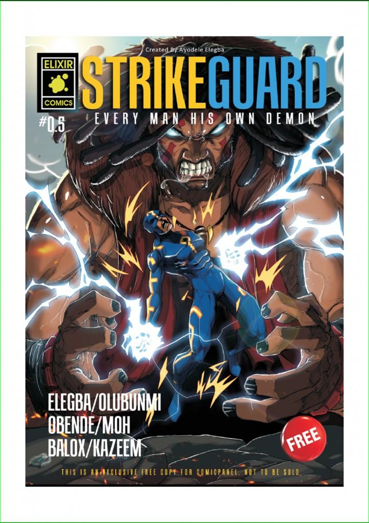 Another Nigerian superhero comic
