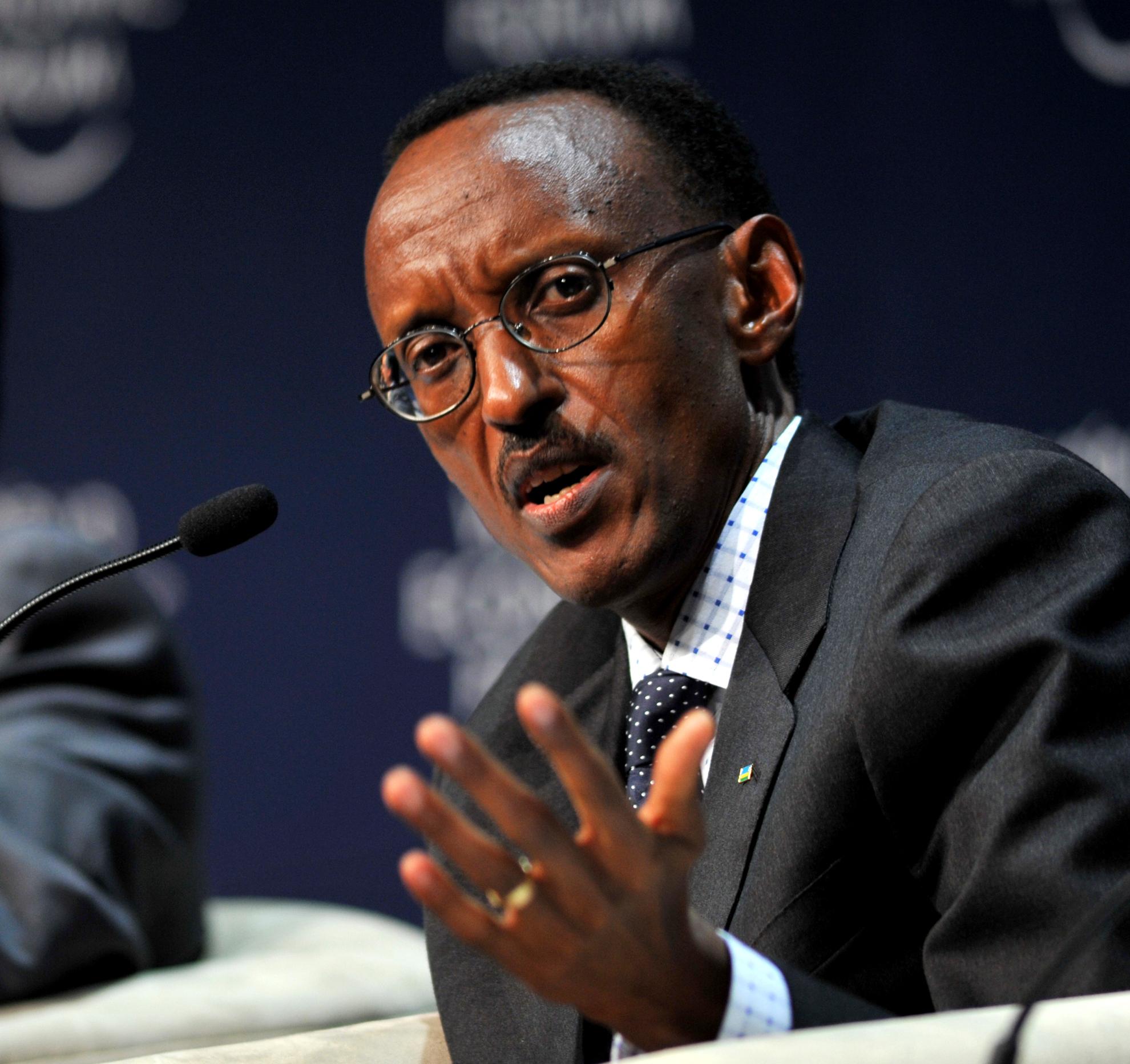 Image result for Rwanda market president