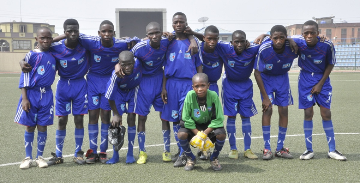 Image result for Lagos United Under-15 boys