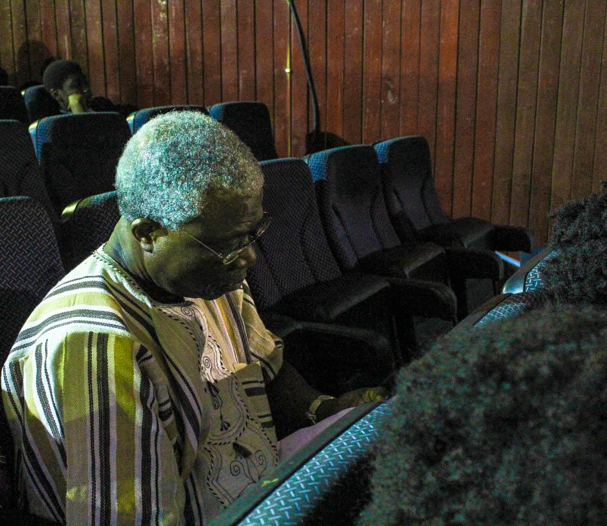 Professor Niyi Osundare. Poet, dramatist and literary critic.