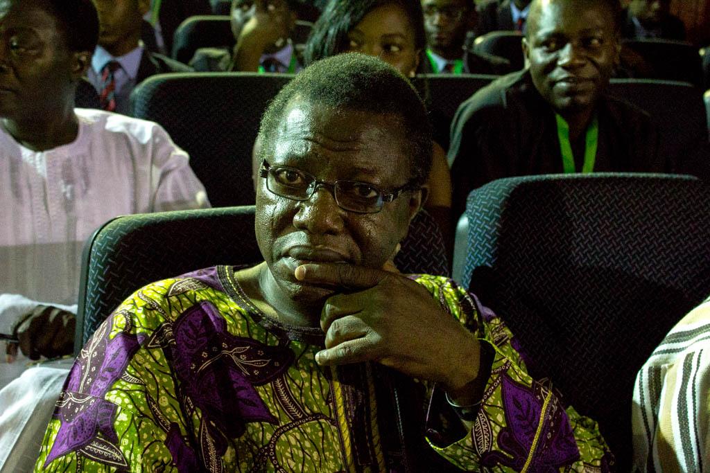 Professor Remi Raji.  Poet and President of the Association of Nigerian Authors.