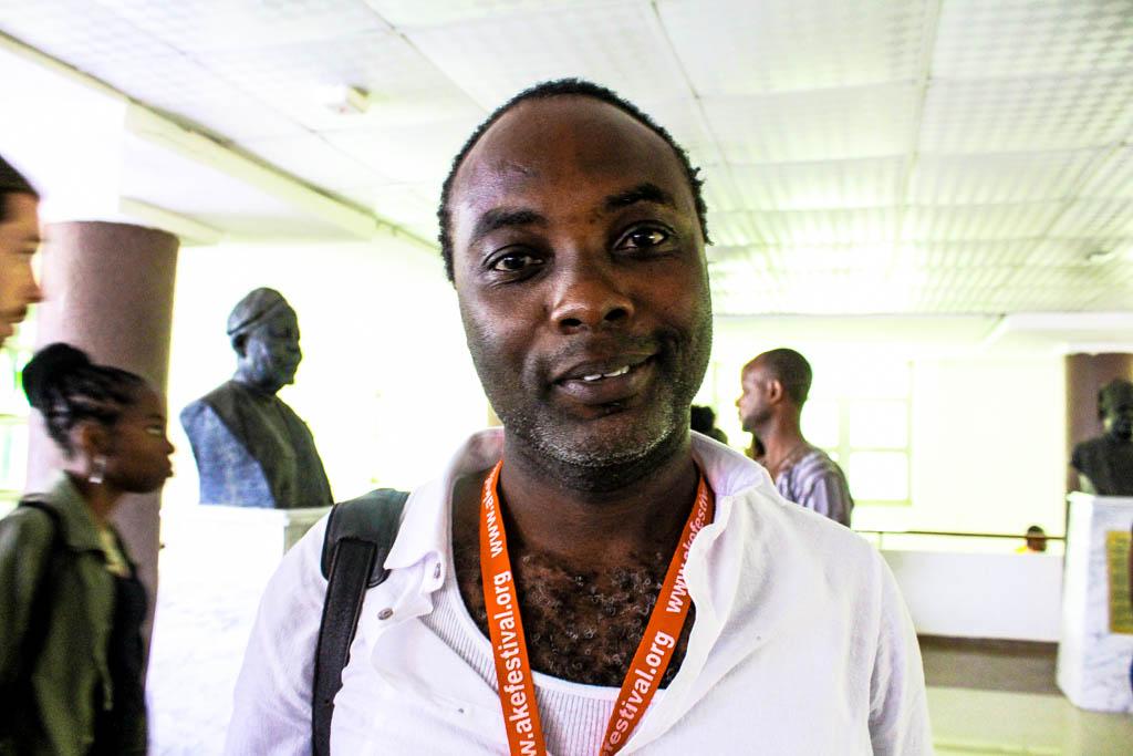 A. Igoni Barret. Author -Black Ass