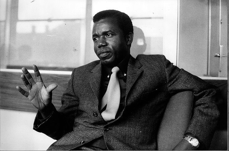 Achebe in 1967 Credit - Think Akwa Ibom