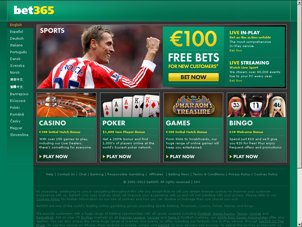 Start Playing Amazing Casino Games & Bet on Your Favorite Sports Today