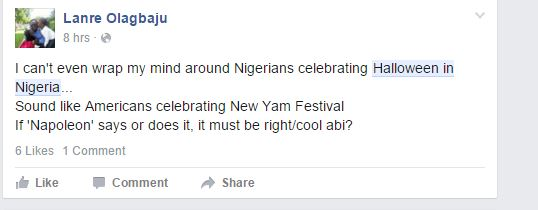 Why celebrating Halloween in Nigeria is more complicated than it ...