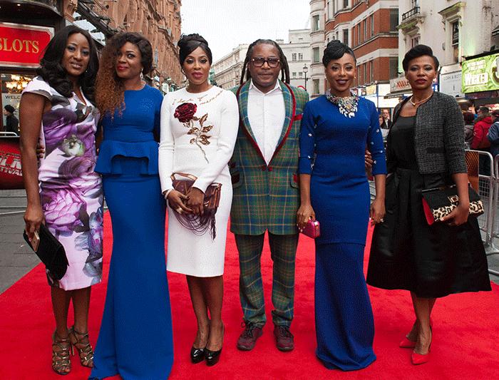 Iretiola Doyle, Omoni Oboli, Mo Abudu, Biyi Bandele, Dakore Akande. Credit - Onobello.com