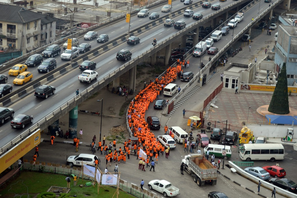 #OrangeTheWorld Lagos
