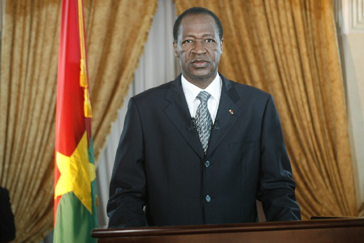 Compaore was eventually ousted by the people of Burkina Faso when he was proposing another 5-year term. He has reportedly fled to Ivory Coast.