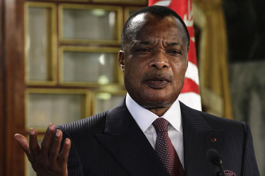 President Sassou Nguesso Credit- Paris match