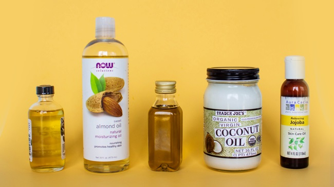 Moisturising hair oils Credit - Naturally curly