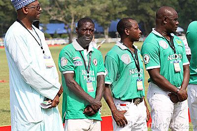 Hamisu Buba (second left)