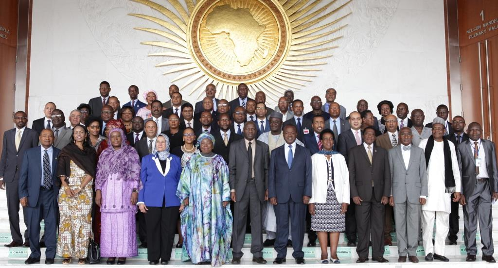 The AU chairperson Nkozana Dlamini and participants of the 31st Ordinary Session of the Permanent Representatives Committee (PRC) at Addis Ababa, Ethiopia