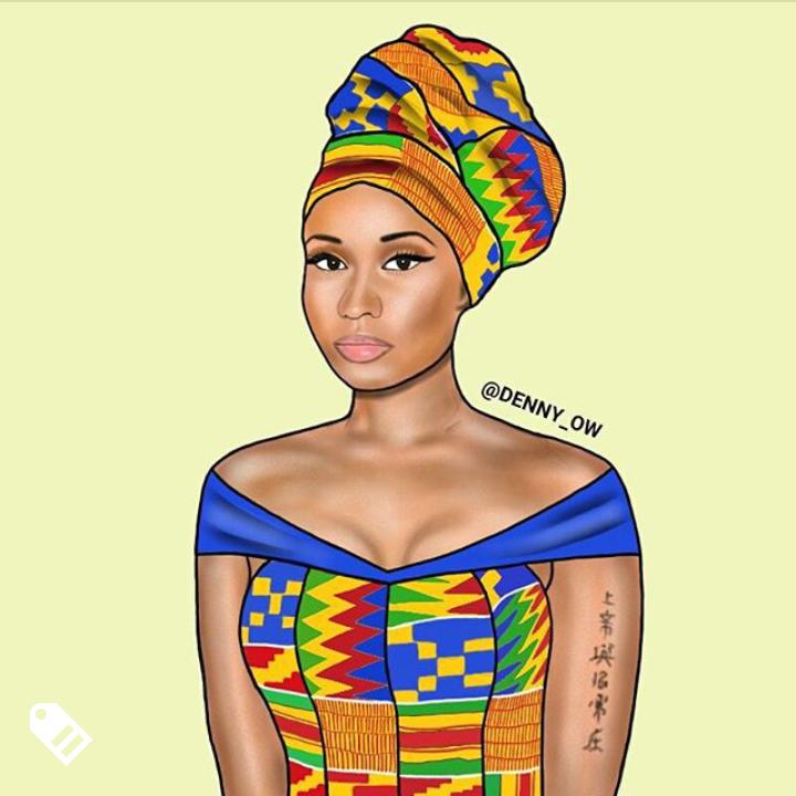 Nicki Minaj Credit - @denny_ow