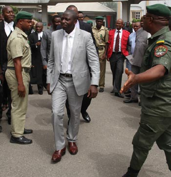 Patrick Akpobolokemi when he was arraigned by the EFCC in December 2015