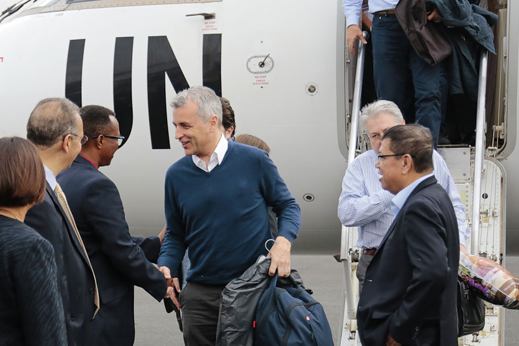 A delegation from the United Nations Security Council are in Burundi to meet with top Government officials in order to pursue an inclusive dialogue process that would put an end to political crisis in the nation. Credit: UNIC Bujumbura