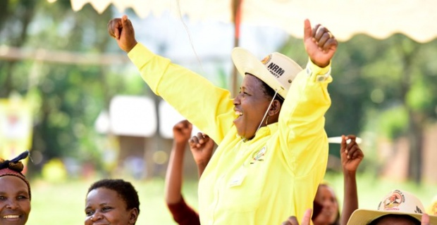 Yoweri Museveni, a presidential candidate in Uganda has reportedly spent Shs27 billion on his 2016 campaigns in two months. Reports say that the amount spent is 12 times more than his two closest challengers combined. Credit: chimpreports.com