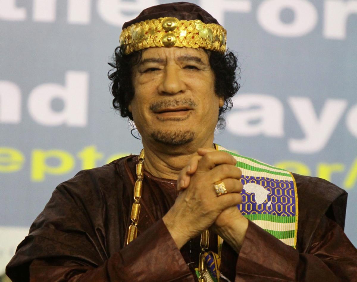Muammar Ghadaffi