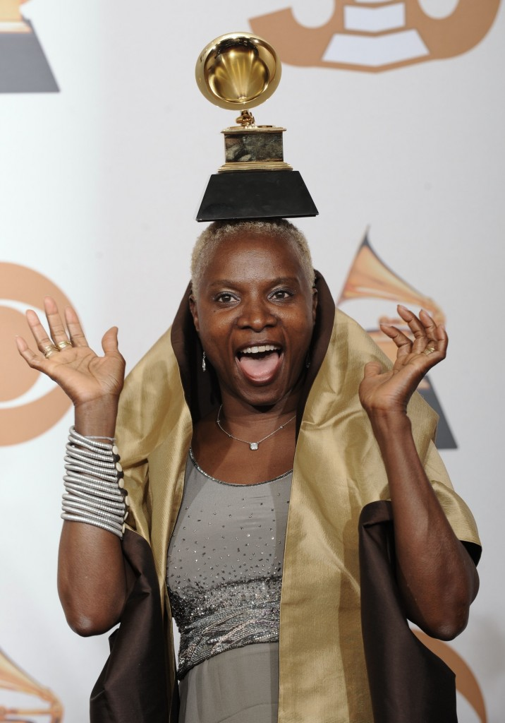 Angelique Kidjo at the 50th Annual Grammy Awards 2008. Credit - medianpr.org