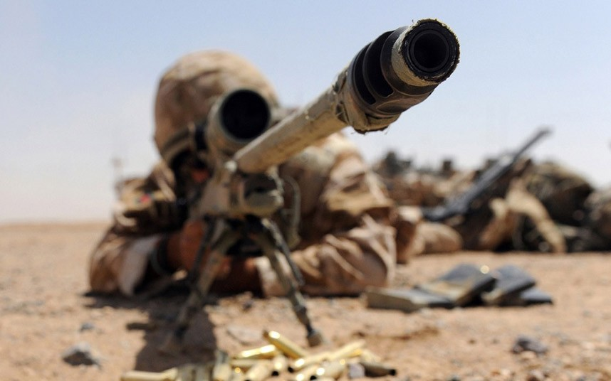 British Army Sniper