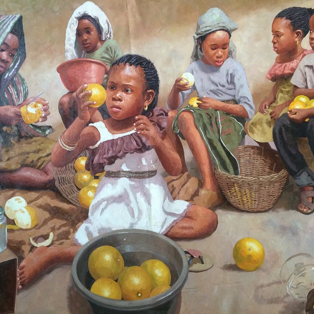 Made in Nigeria: These remarkable paintings by Oresegun Olumide