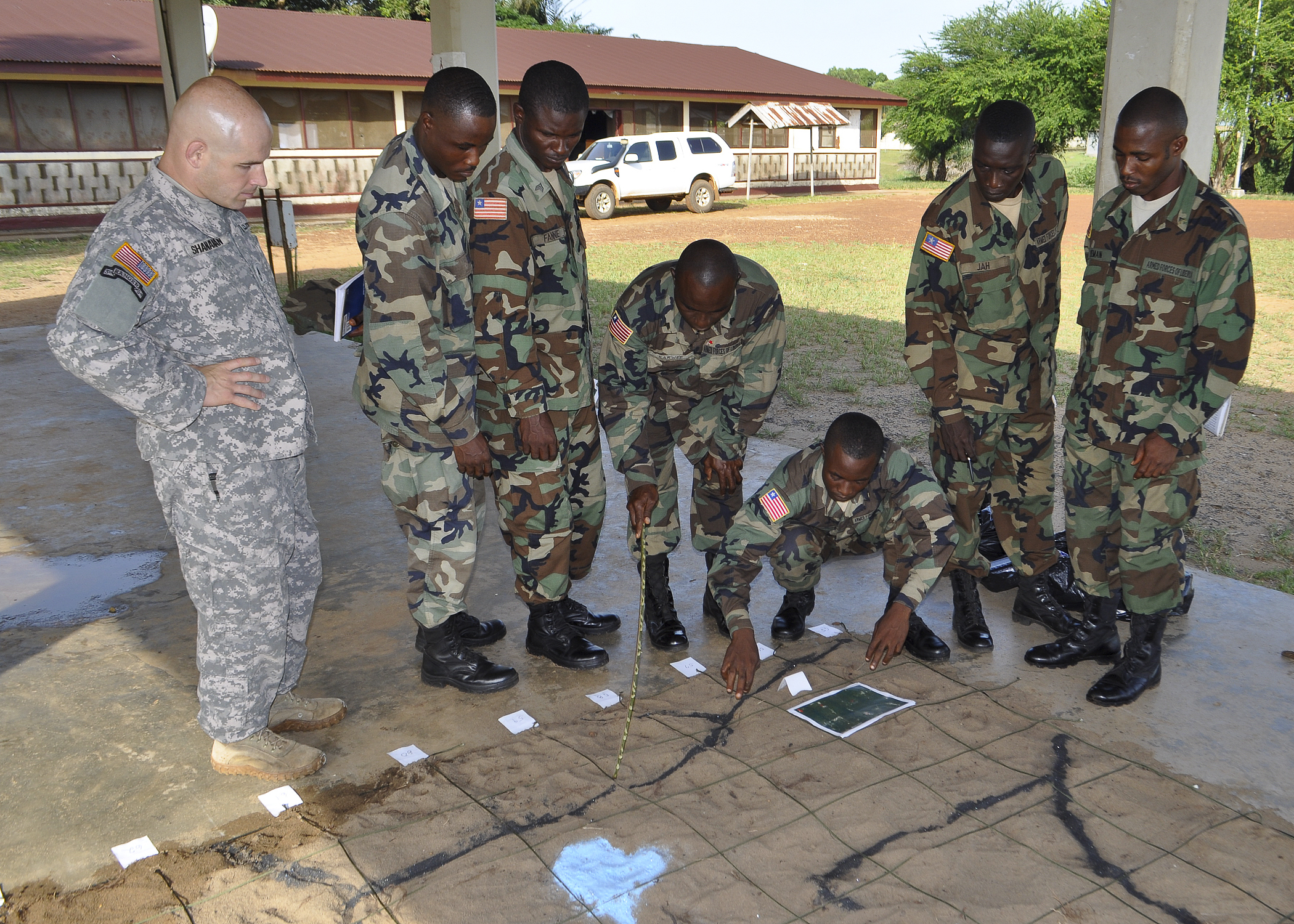 liberia regains security autonomy 13 years after the civil