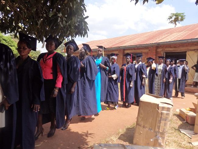 Graduation-at-Vocational-Training-Program-at-the-Kiryandongo-Refugee-Settlement Credit - Real Medicine Foundation