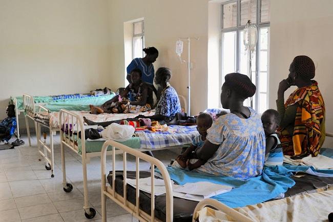 Pediatric ward at the Juba Teaching Hospital, renovated by Real Medicine Foundation Credit - RMF