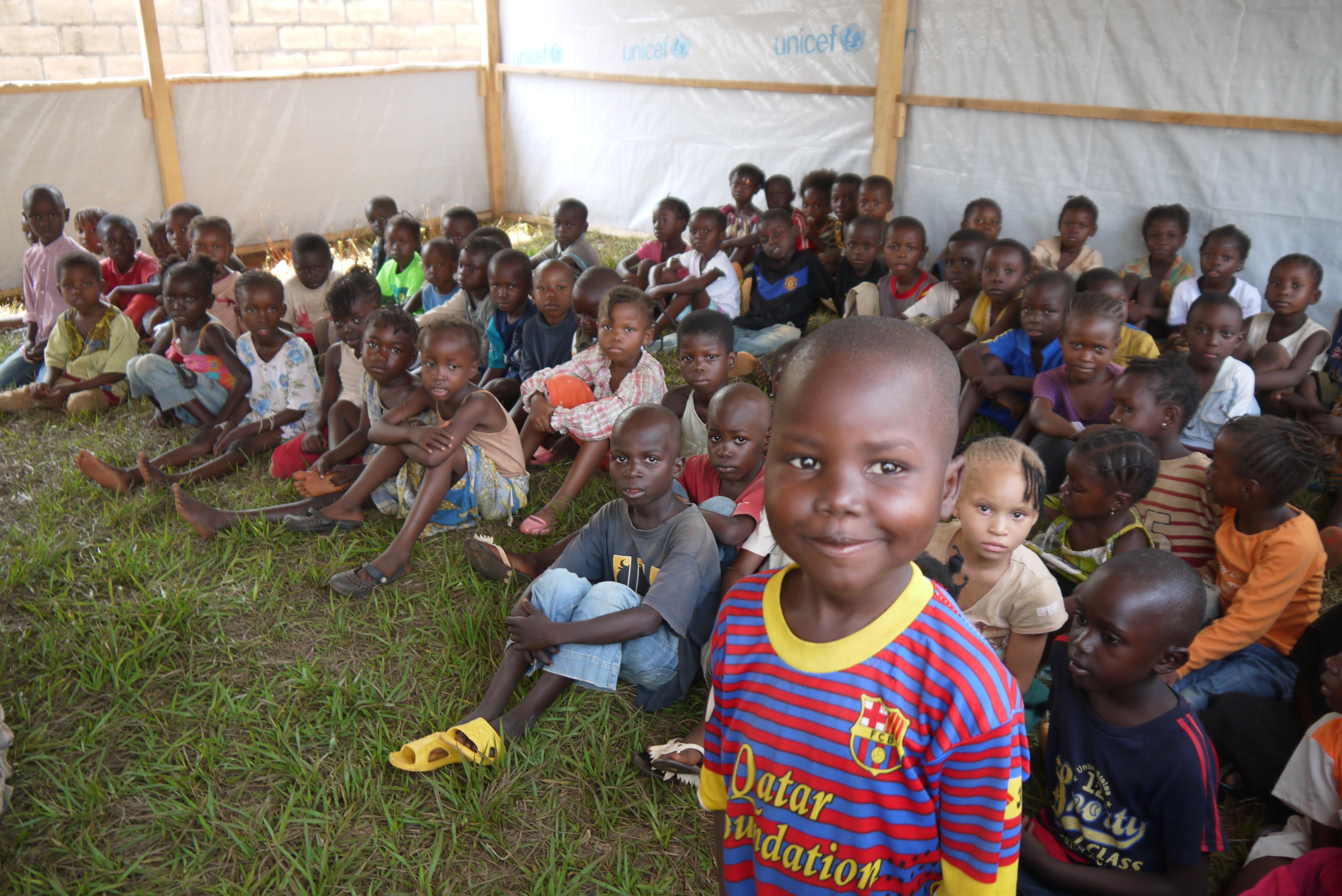 how the war is affecting basic child education in car