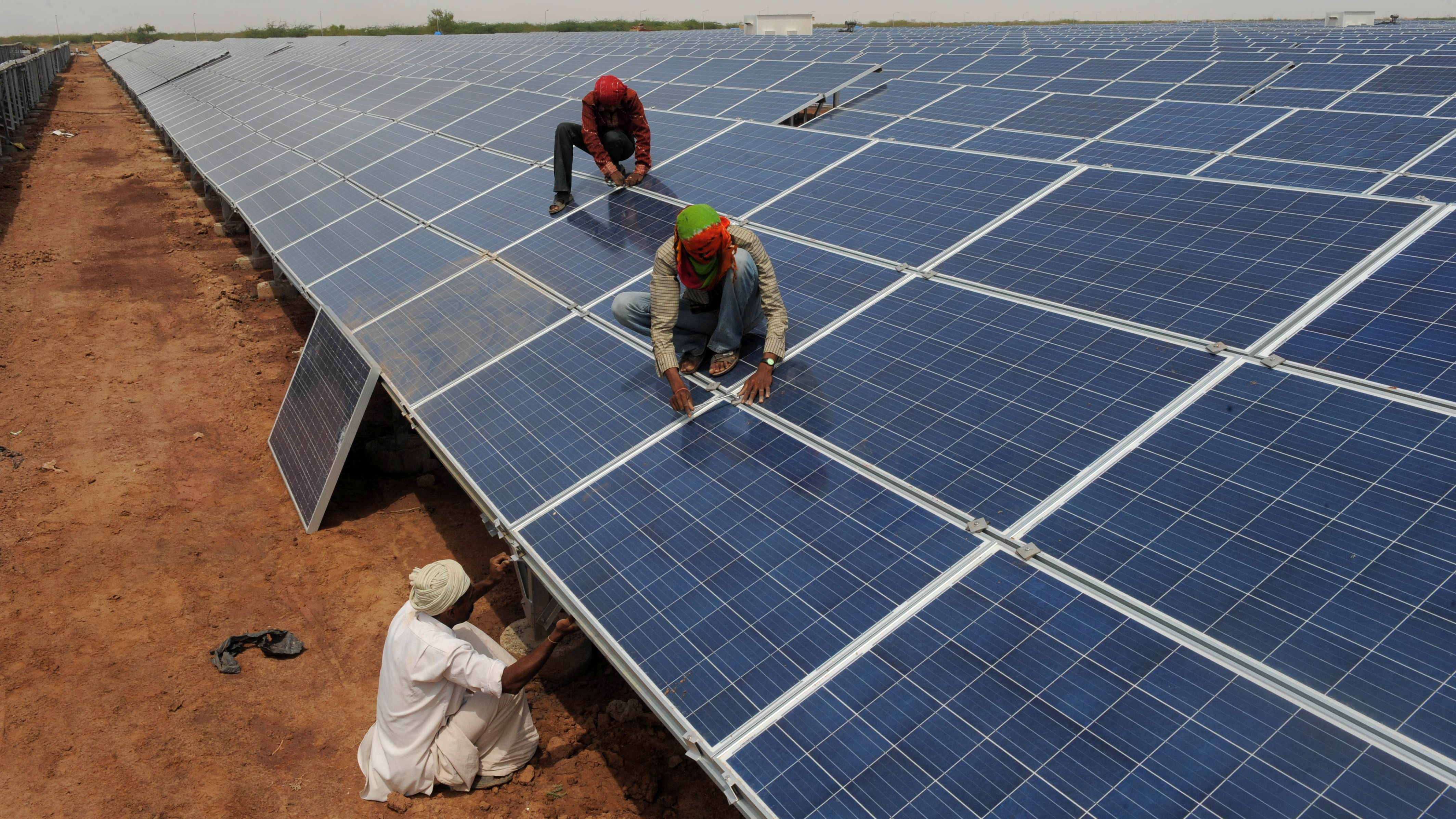 India Launches The Largest Solar Plant In The World
