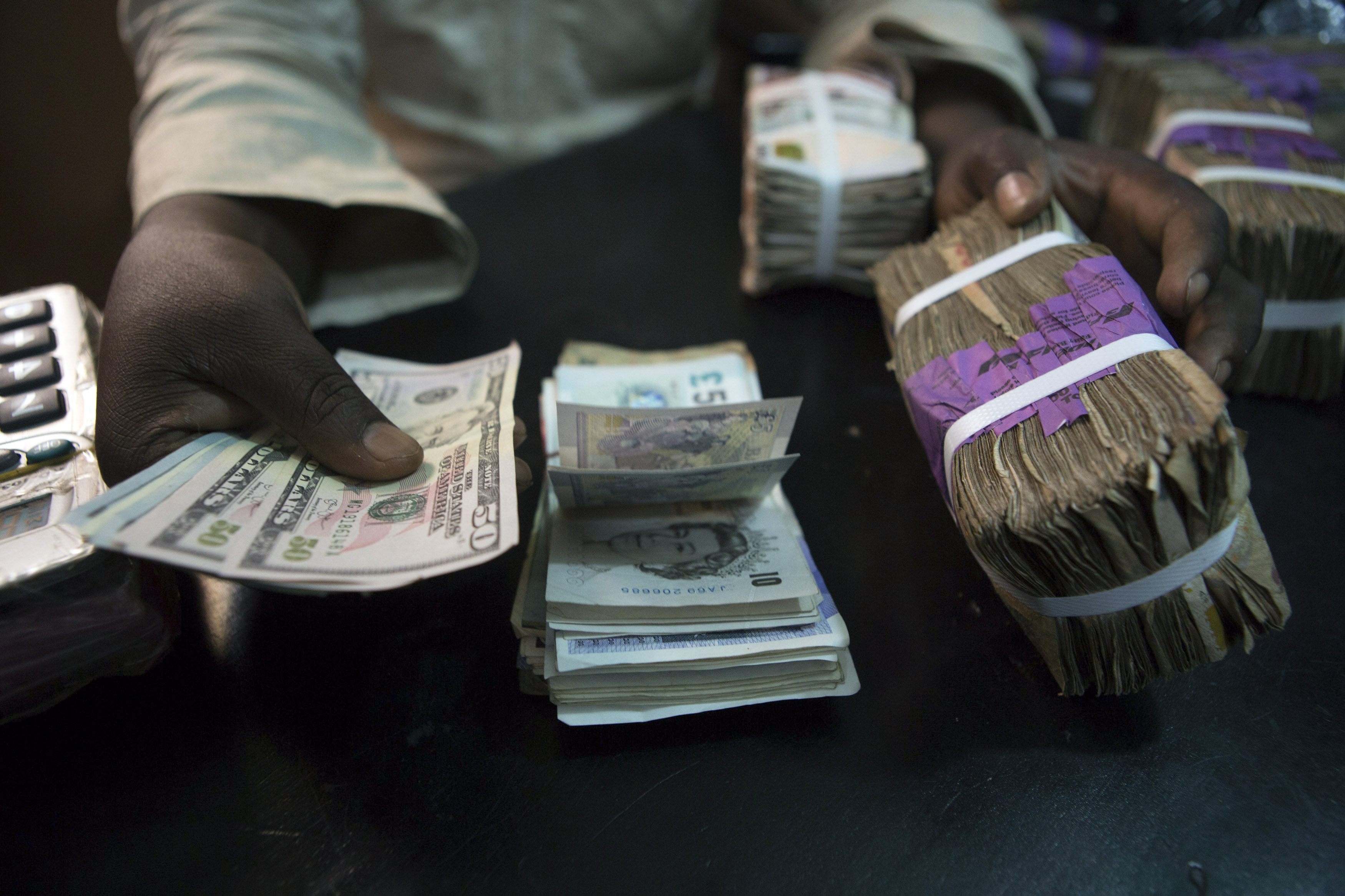 us-dollars-nigerian-naira Weekly Economic Index