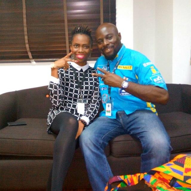 Jennifer with course Instructor, Tunde Babalola.