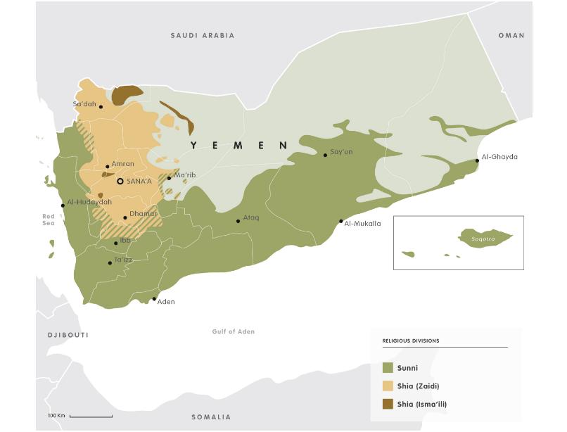 Divided Yemen
