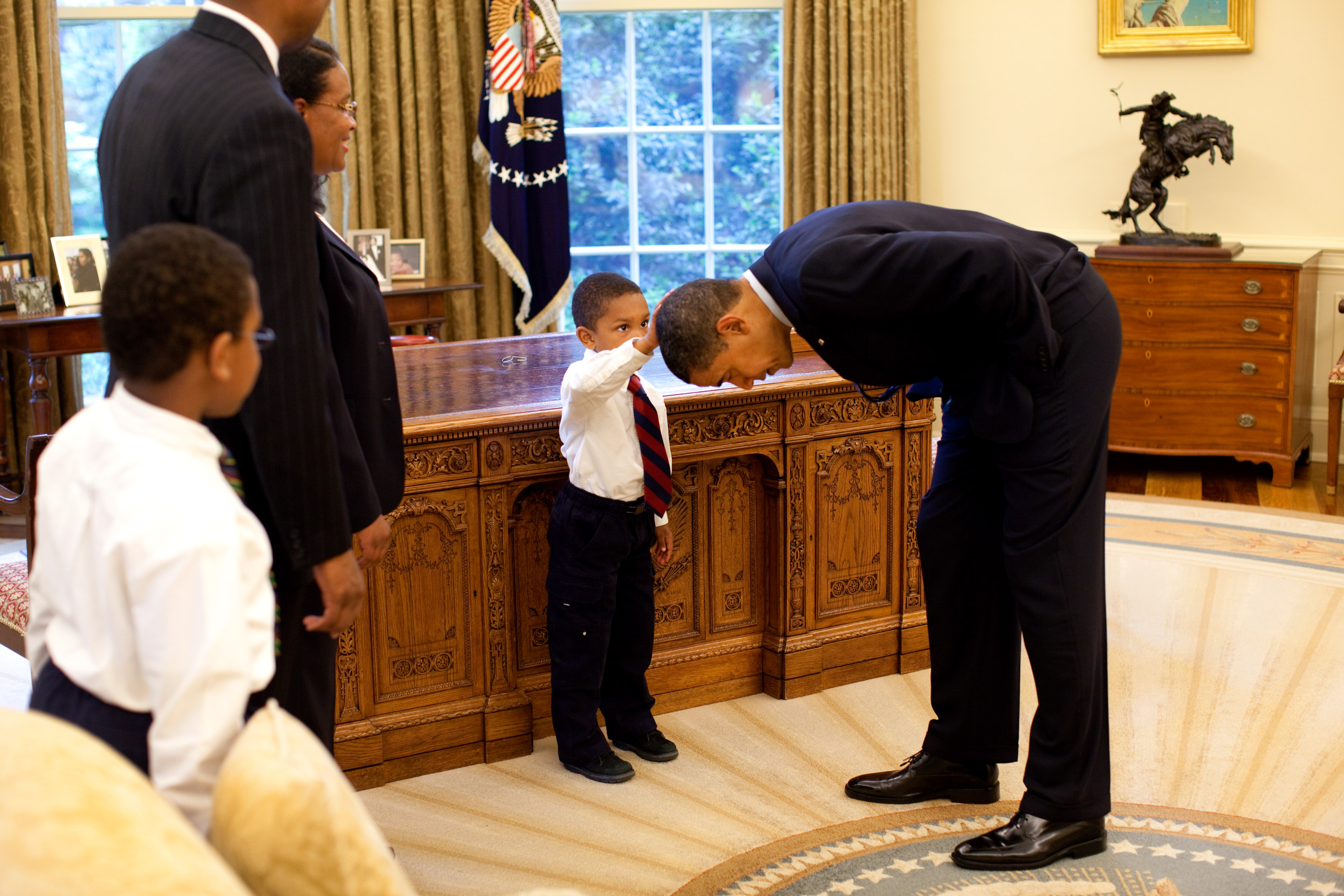 Barack Obama is everything African leaders are not but we wish they were