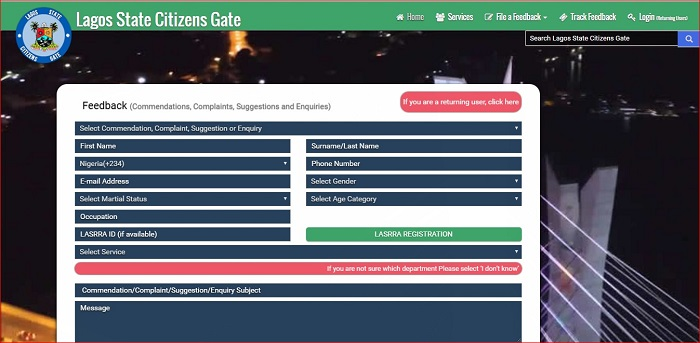 Lagos-citizens-gate-app-interface