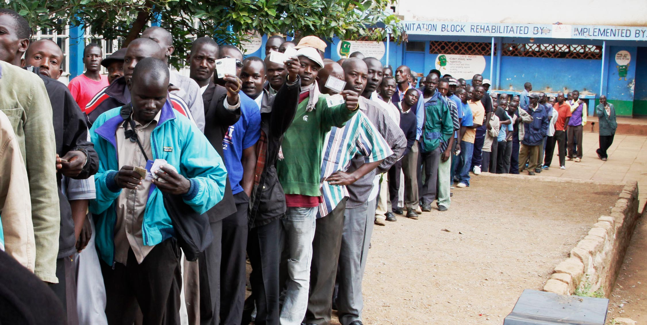 Kenya is experiencing a turbulent journey to its 2017 general elections