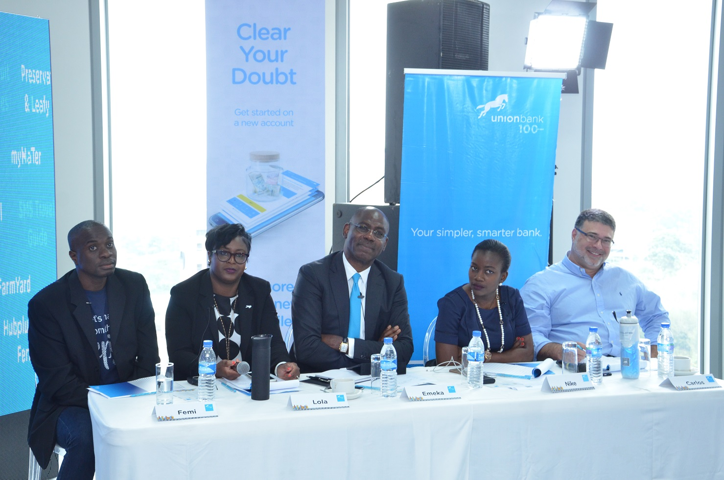 Meet the Judges at Union Bank Centenary Innovation Challenge
